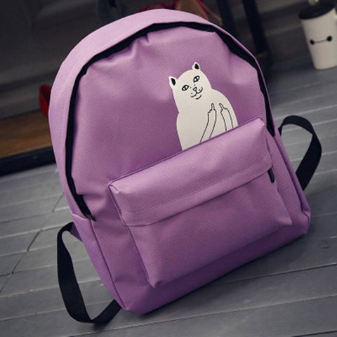 Backpack With Print (5 Colors) - TakeClothe - 1