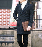 Herringbone Wool-Rich Coat - TakeClothe - 2
