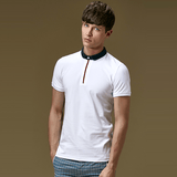 Polo Shirt with Contrast Placket (3 Colors) - TakeClothe - 2