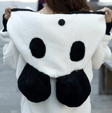 Oversized Panda Hoodie (2 Colors) - TakeClothe - 3