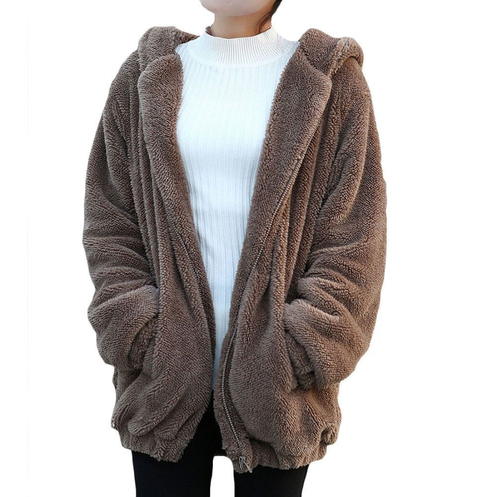 Oversized Bear Hoodie (2 Colors) - TakeClothe - 1