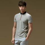 Polo Shirt with Contrast Placket (3 Colors) - TakeClothe - 3