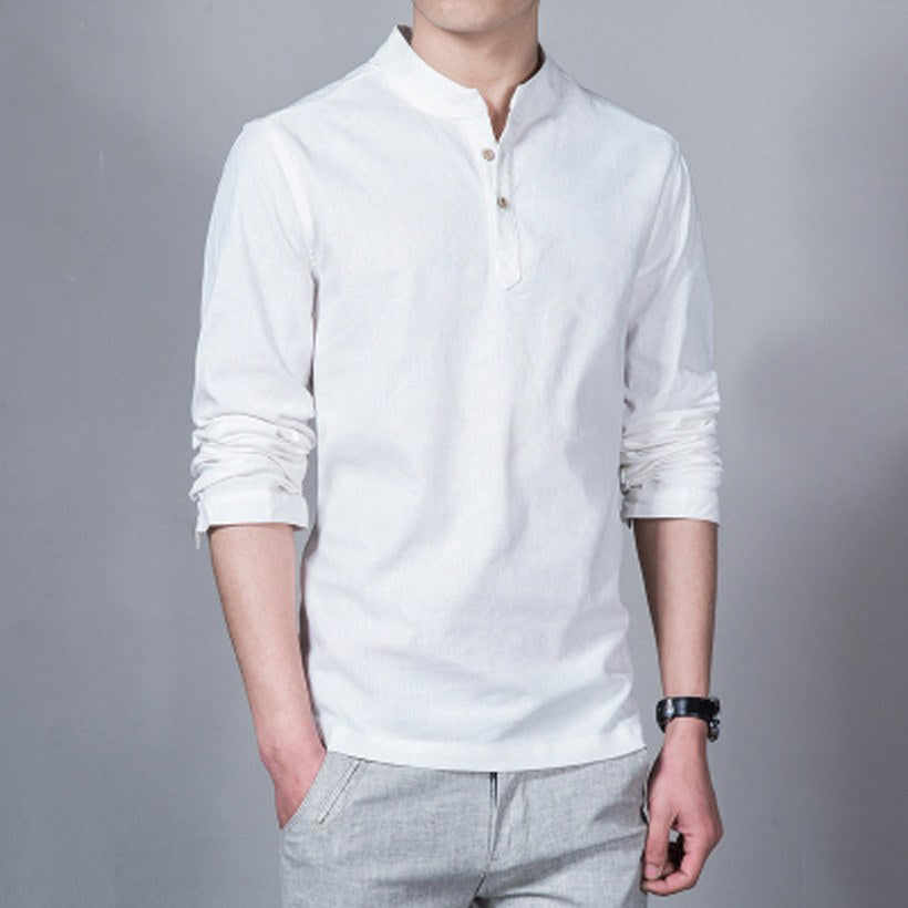 Long Sleeve Shirt (4 colors) - TakeClothe - 1
