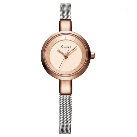 KIMIO Skinny Strap Mini Dial Watch (3 Colors) - TakeClothe - 1