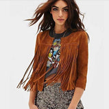 Jacket with All Over Fringe - TakeClothe - 1