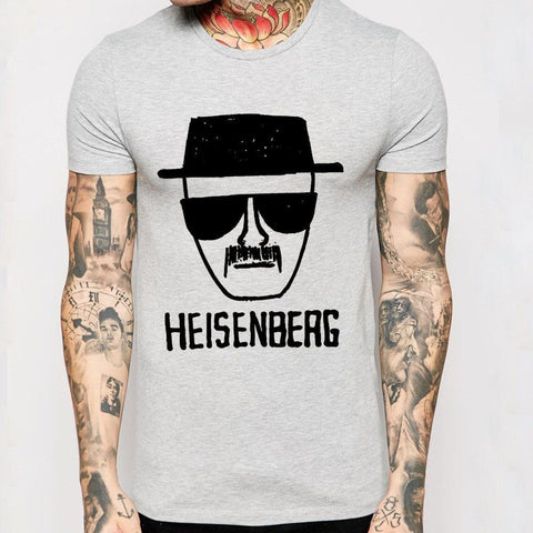 "T-Shirt With ""Heisenberg"" Print (2 Colors) - TakeClothe - 1"