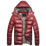 Hooded Down Jacket (4 Colors) - TakeClothe - 2