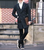 Herringbone Wool-Rich Coat - TakeClothe - 3
