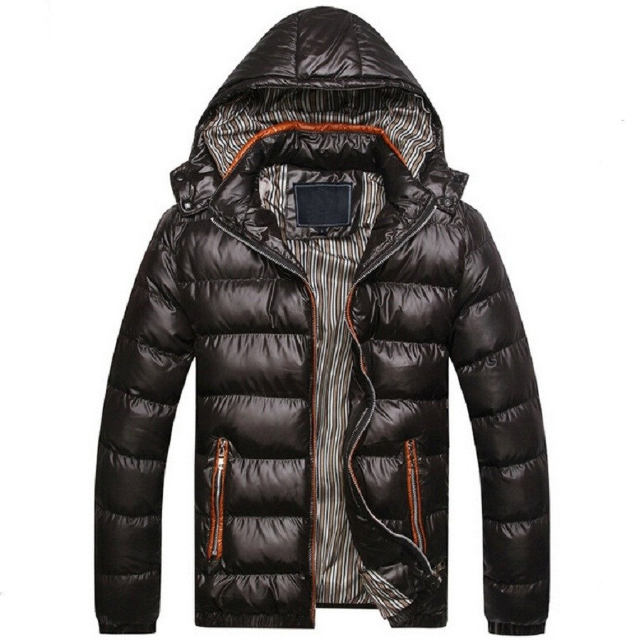 Hooded Down Jacket (4 Colors) - TakeClothe - 1