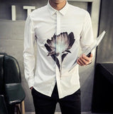 Classic Shirt With Front Print (2 Colors) - TakeClothe - 2