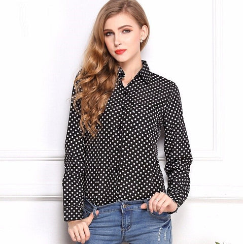 Polka Dot Shirt (2 Colors) - TakeClothe - 1