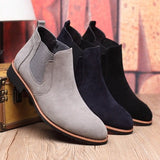 Suede Chelsea Boots (3 Colors) - TakeClothe - 5