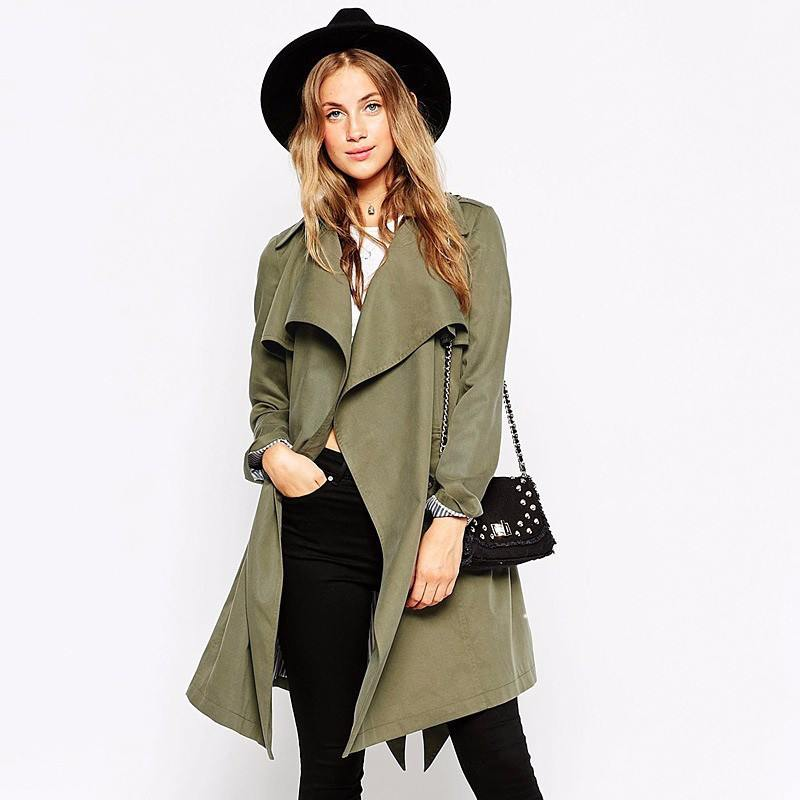 Soft Wrap Coat - TakeClothe - 1