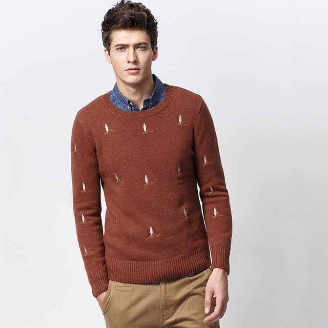 Pattern Sweater (2 Colors) - TakeClothe - 1