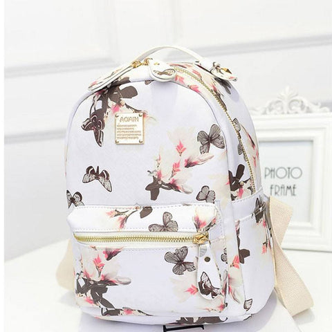 Floral Backpack (3 Colors) - TakeClothe - 1