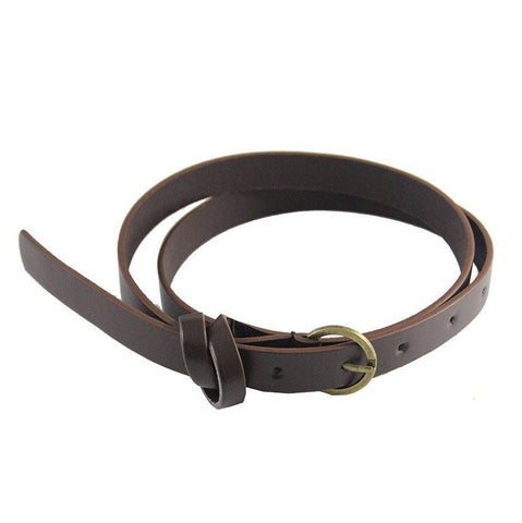 Knotted Skinny Belt (2 Colors) - TakeClothe - 1