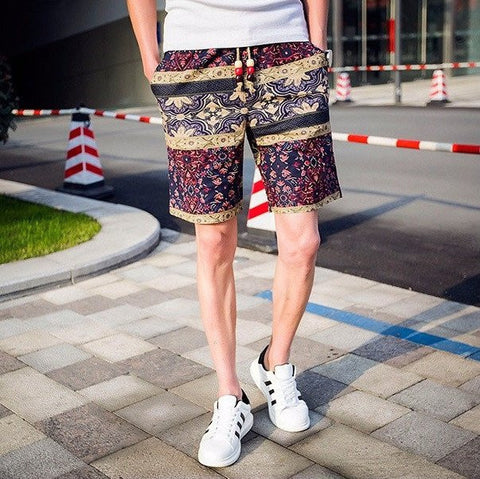 Pattern Shorts - TakeClothe