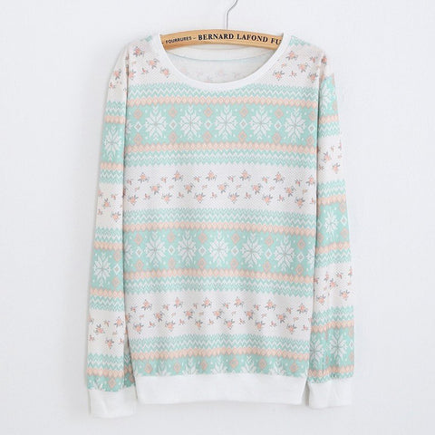 Sweatshirt With Print - TakeClothe - 1