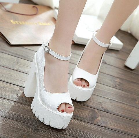 Chunky Platform Sandals (2 Colors) - TakeClothe - 1