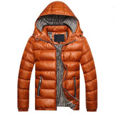 Hooded Down Jacket (4 Colors) - TakeClothe - 3