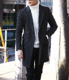 Herringbone Wool-Rich Coat - TakeClothe - 1