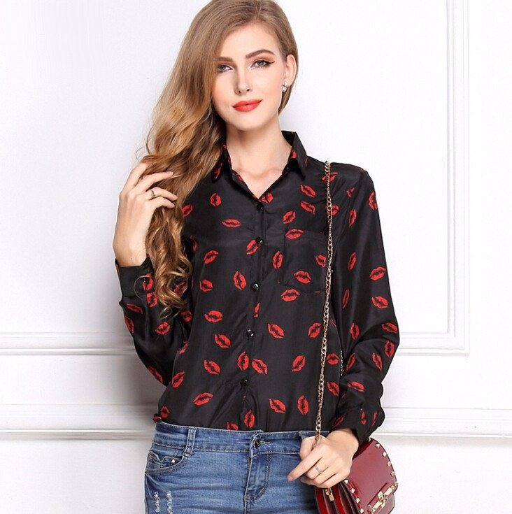 Printed Shirt (2 Colors) - TakeClothe - 1