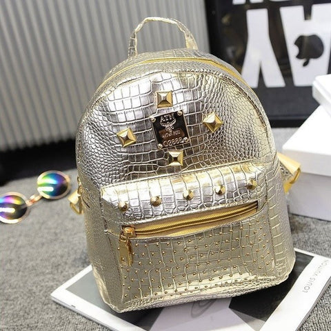 Backpack with Studding Detail (4 Colors) - TakeClothe - 1