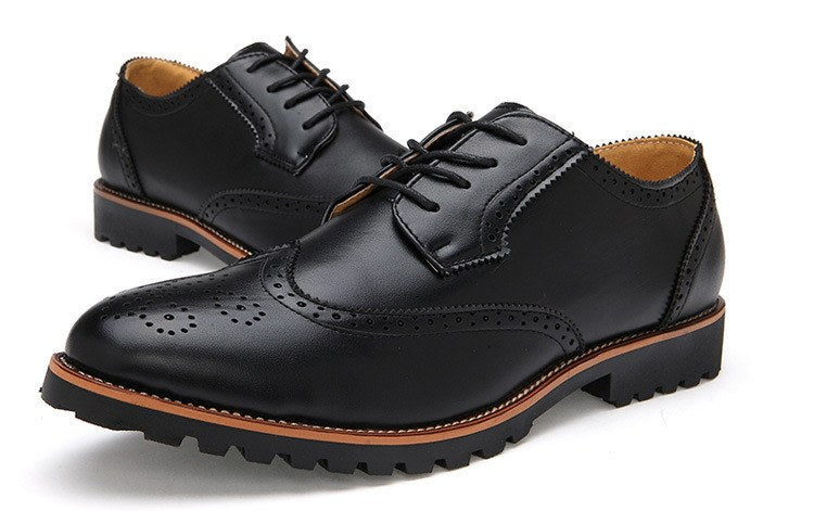 Brogue Shoes (2 Colors) - TakeClothe - 3