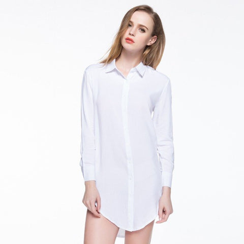 Longline Shirt (2 Colors) - TakeClothe - 1