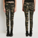 Camo Print Skinny Jeans - TakeClothe - 3