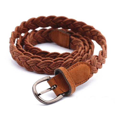 Canvas Plaited Belt (2 Colors) - TakeClothe - 1
