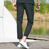 Pants In Slim Fit Black - TakeClothe - 2