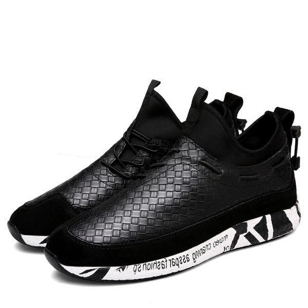 Woven Shoes in Black - TakeClothe - 1