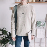 Oversized Crewneck Sweater (2 Colors) - TakeClothe - 2