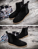 Classic Suede Chelsea Boots (2 Colors) - TakeClothe - 3