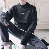 Oversized Crewneck Sweater (2 Colors) - TakeClothe - 1