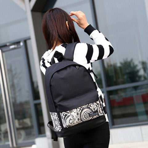 Backpack with Print (4 Colors) - TakeClothe - 1