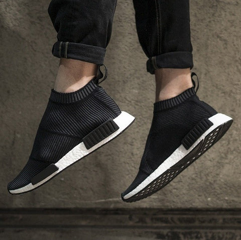 Futuristic Sneakers in Black - TakeClothe