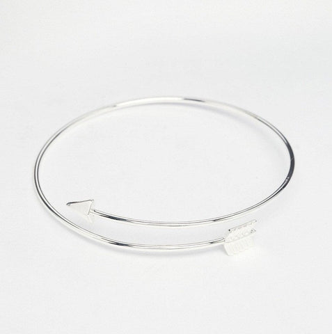 Arrow Open Bangle Bracelet - TakeClothe - 1