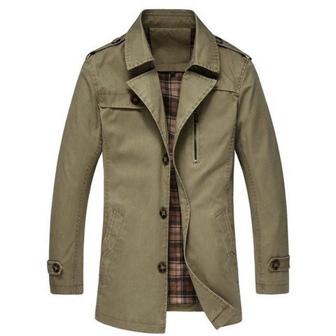 Classic Trench Coat (3 Colors)