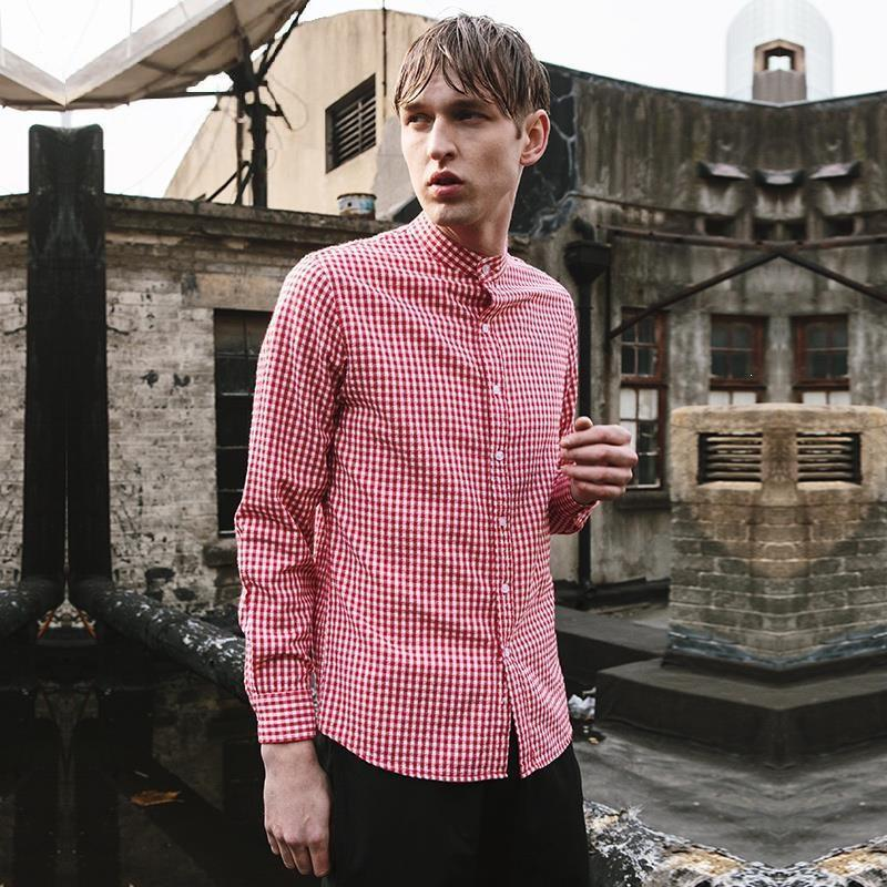 Smart Shirt With Gingham Check Exclusive to TakeClothe - TakeClothe