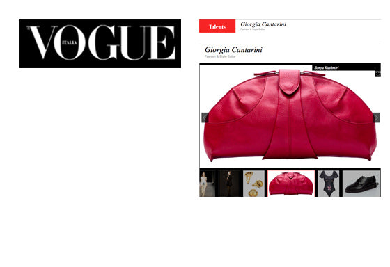 """Clutch by Sonya Kashmiri"" - Vogue Italia"
