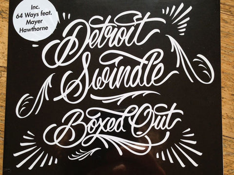 Detroit Swindle | Boxed Out Album (CD)