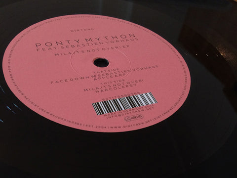 Ponty Mython Feat. Sebastien Vorhaus | Mila, It's Not Over EP