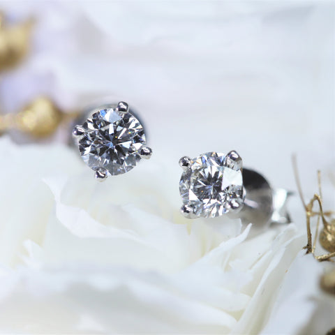 0.83ct CVD Diamond Studs