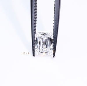 1.00ct Fancy Emerald Cut Diamond