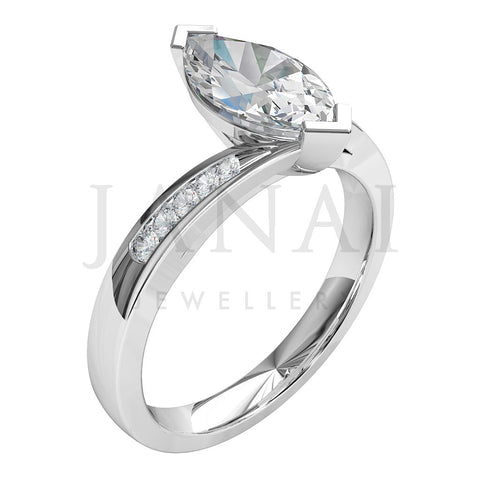 shaped halo side rings diamond marquise engagement three design co item image stone gabriel