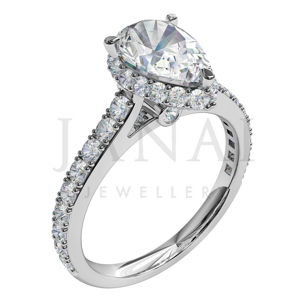 thejewelleryworkshop shape product diamond web pear ring