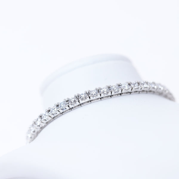 Italian-made Tennis Bracelet with 2.45cts CVD Diamonds