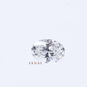 0.61ct Oval Brilliant E-Vvs1 Diamond